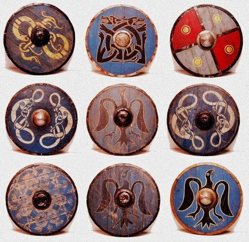 506x493 Viking Shield Patterns