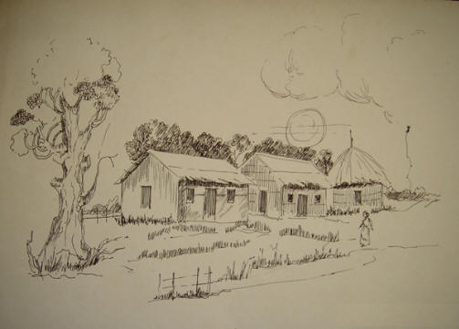 503x361 image result for indian rural villages sketches drawings