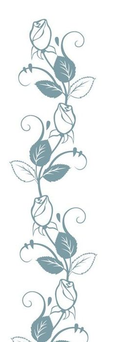 236x700 Drawing Designs With Color Placement For Mammen Vine Embroidery