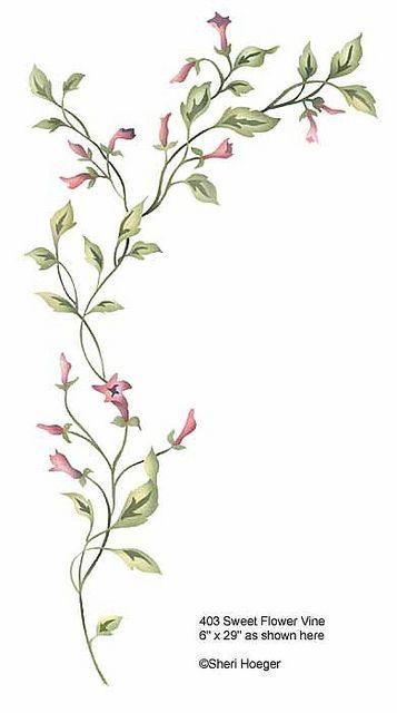 357x640 Flower Vine Tattoo Designs Foot Ankle W E Tattoodonkey Com