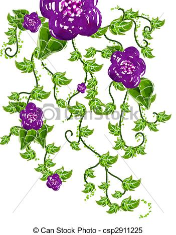 Vines And Flowers Drawing at GetDrawings.com | Free for ...  Vines And Flowe...