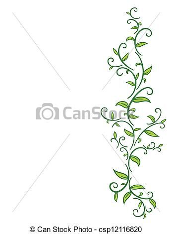 347x470 Vine With Leaves. Pattern Reference Pictures