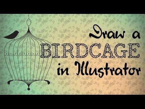480x360 Draw A Simple Vintage Birdcage Using Illustrator