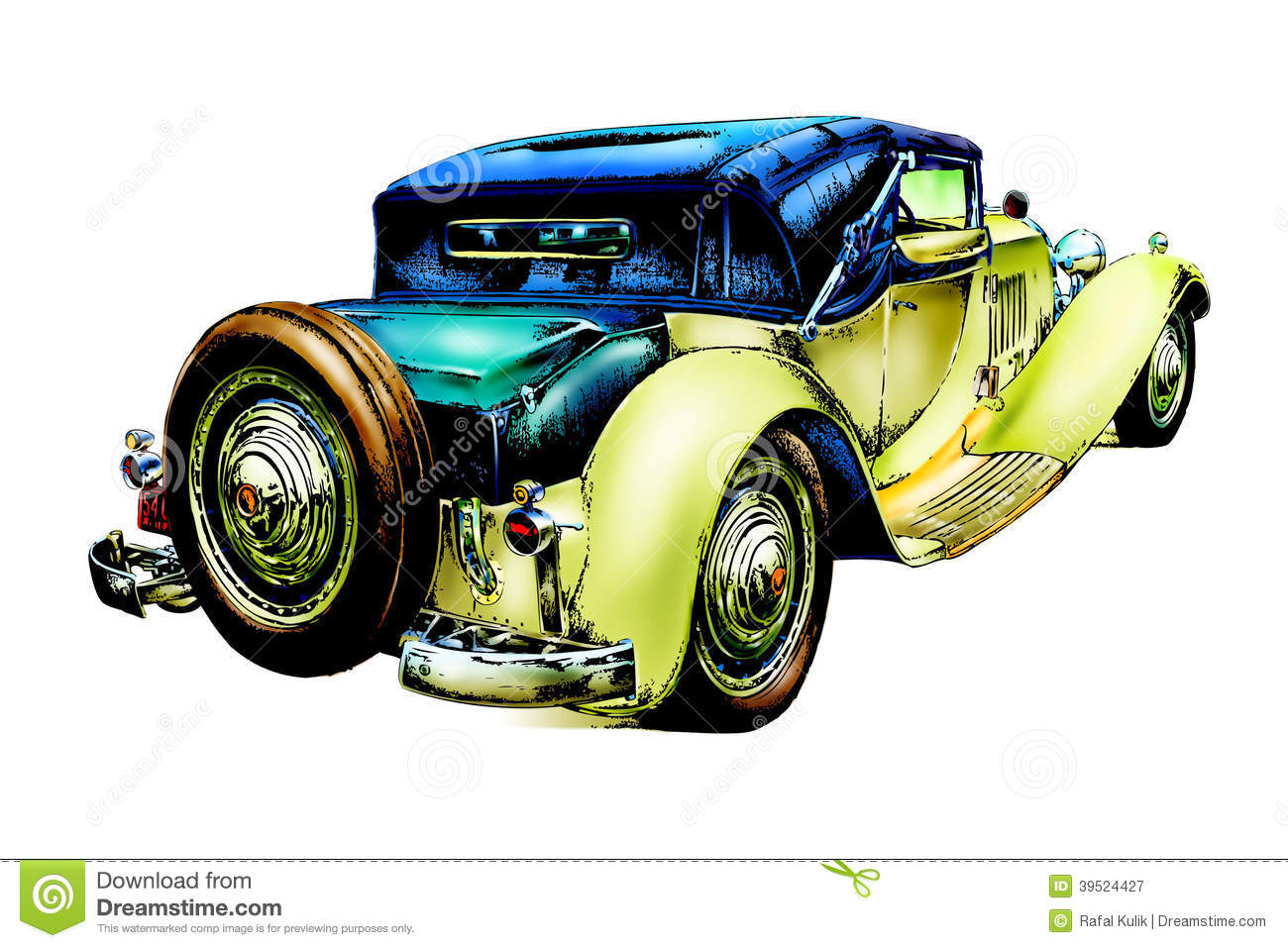 Vintage Car Drawing At Getdrawings Com Free For Personal Use