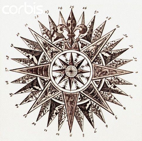 484x480 Resultado De Imagem Para Old Compass Drawing Roses And