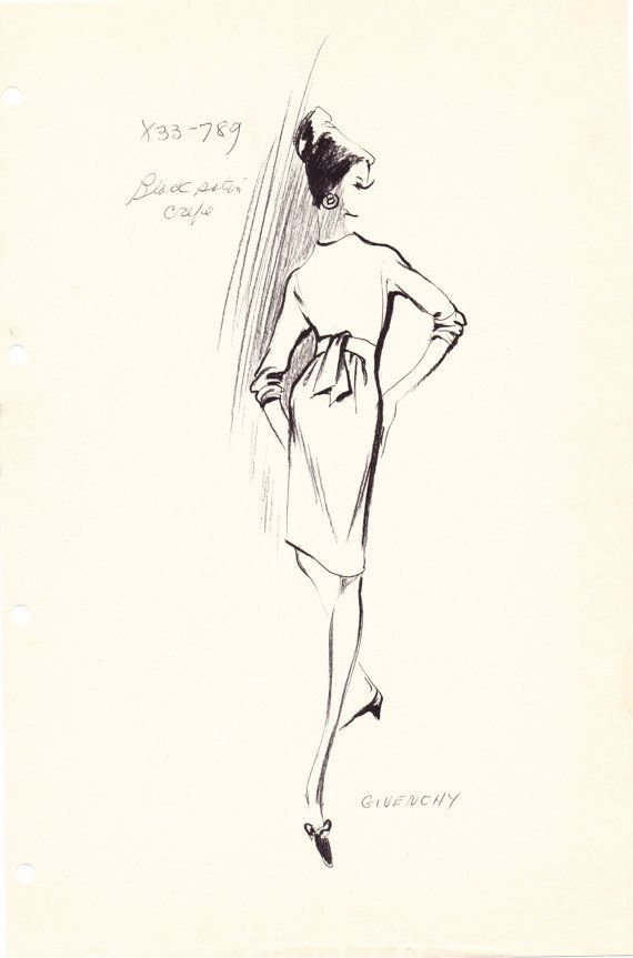 570x863 Croquis Haute Couture