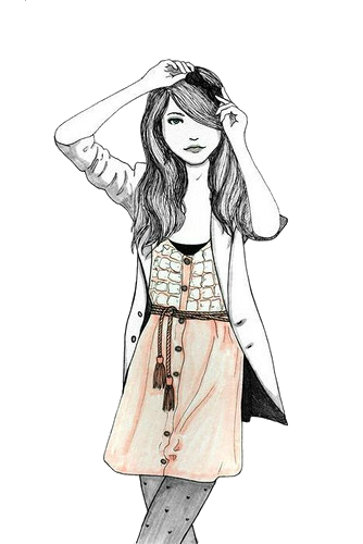 334x500 Vintage Girl Png 47 By On @