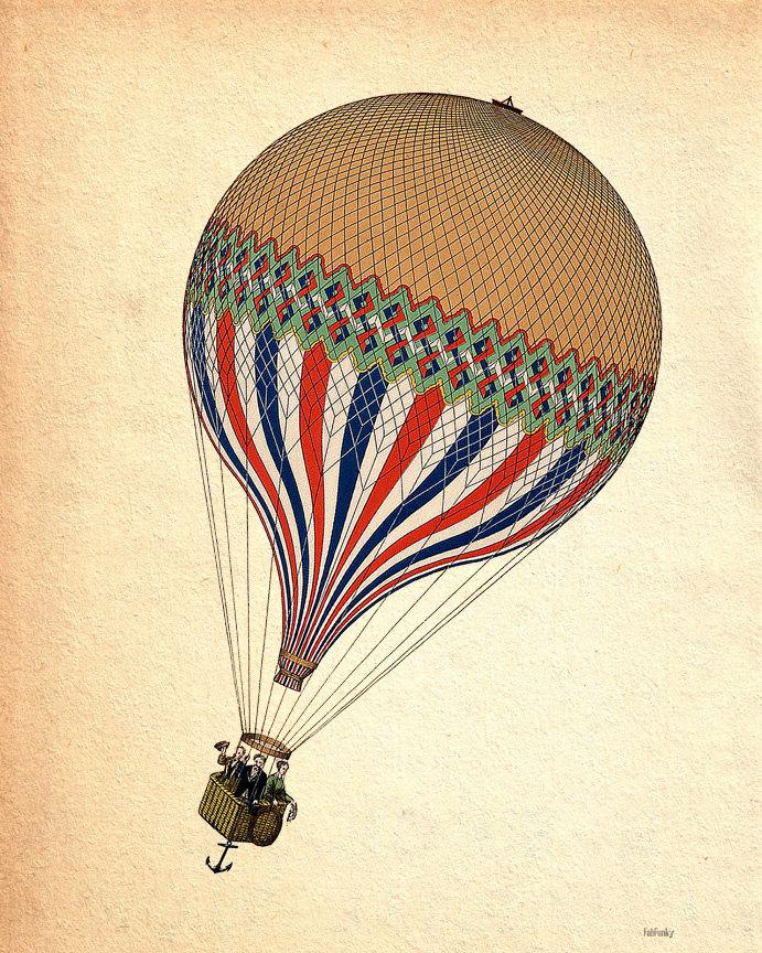 691x864 Antique Hot Air Balloon Hot Air Balloons Air