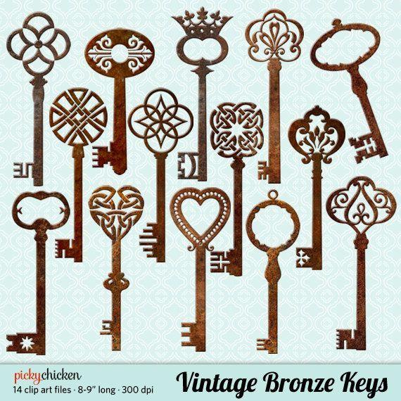 570x570 Image Result For Bronze Patina Antique Skeleton Keys Antique