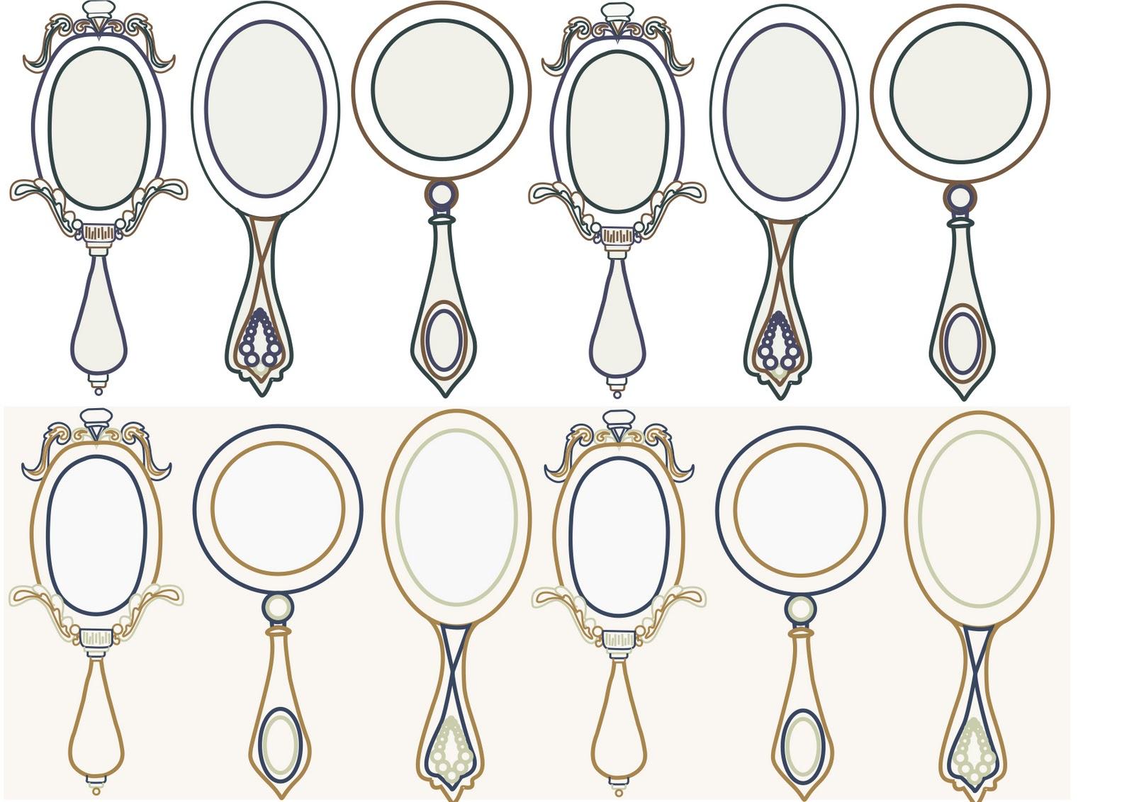 Vintage Mirror Drawing at GetDrawings | Free download