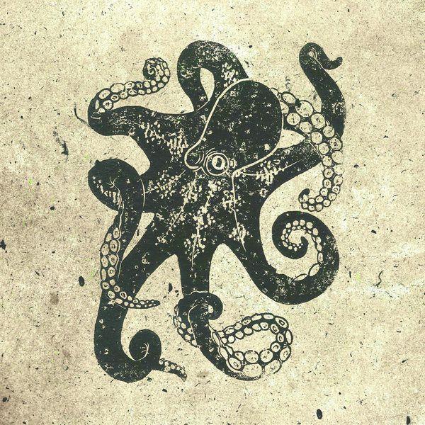 600x600 Steampunk Octopus Art Print By Railton R Vintage Octopus