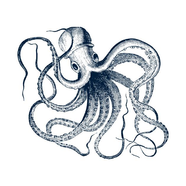 630x630 Vintage Octopus
