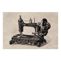 260x260 Vintage Sewing Machine Posters Amp Prints