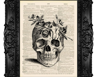 340x270 Skull Illustration, Skull Retro, Skull Collage, Skull Drawing