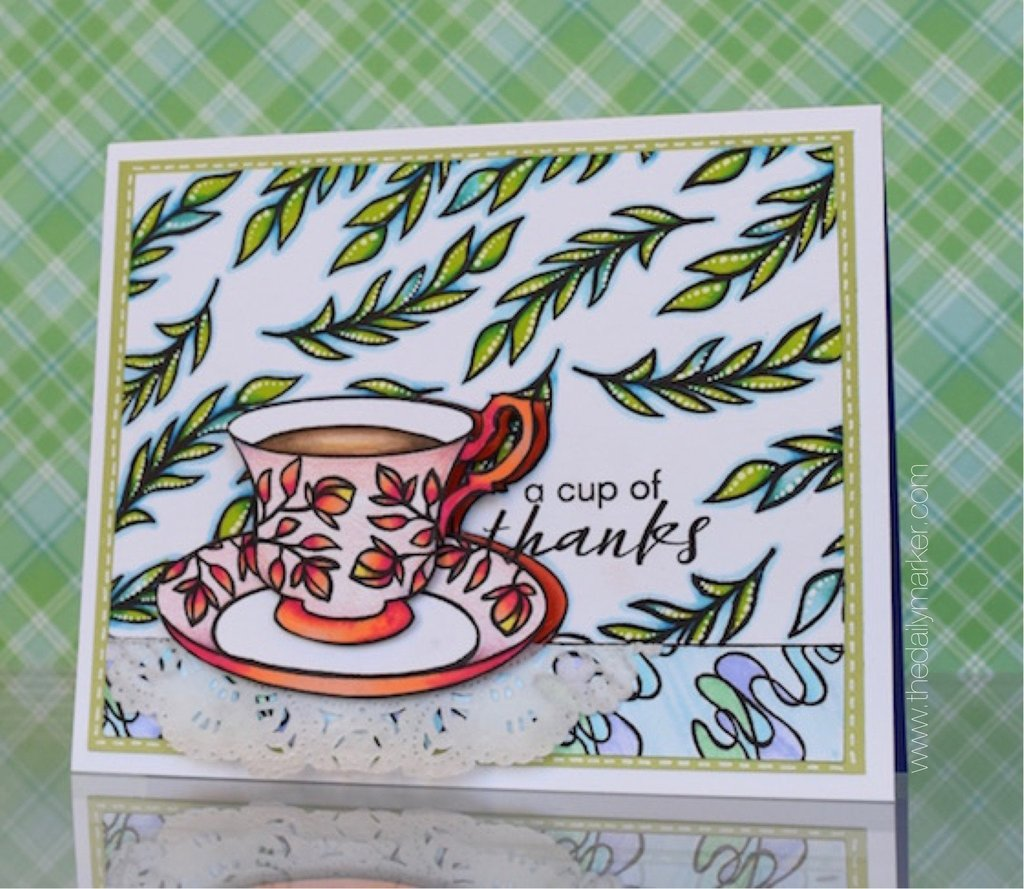 1024x889 Vintage Teacup Stamp Set Altenew
