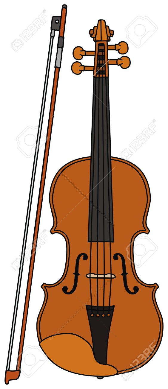 Viola drawing at free for personal use for Viola coloring page