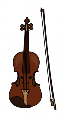 215x382 How To Draw A Violin, Easy Step By Step Drawing Tutorial