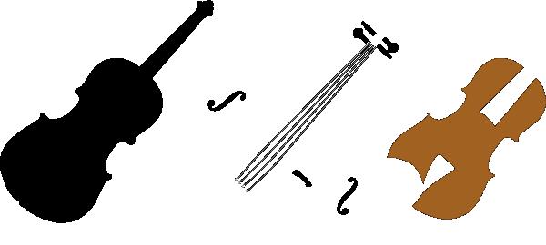 600x270 Violin Parts Plooter Clip Art