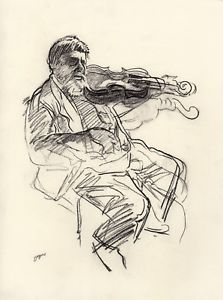 223x300 Edgar Degas Concert Charcoal Drawing Ebay