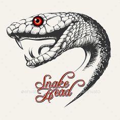 236x236 Snake Head Drawing