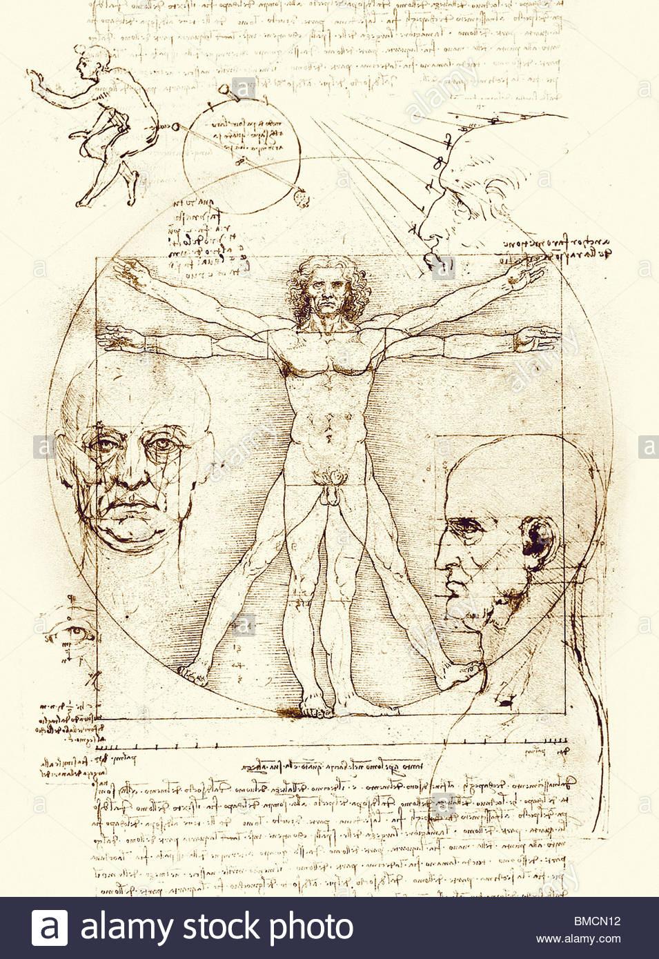 Vitruvian Man Drawing at GetDrawings.com | Free for personal use ...