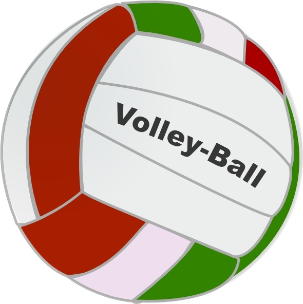 590x592 Volley Ball Clip Art Free Vector In Open Office Drawing Svg ( Svg