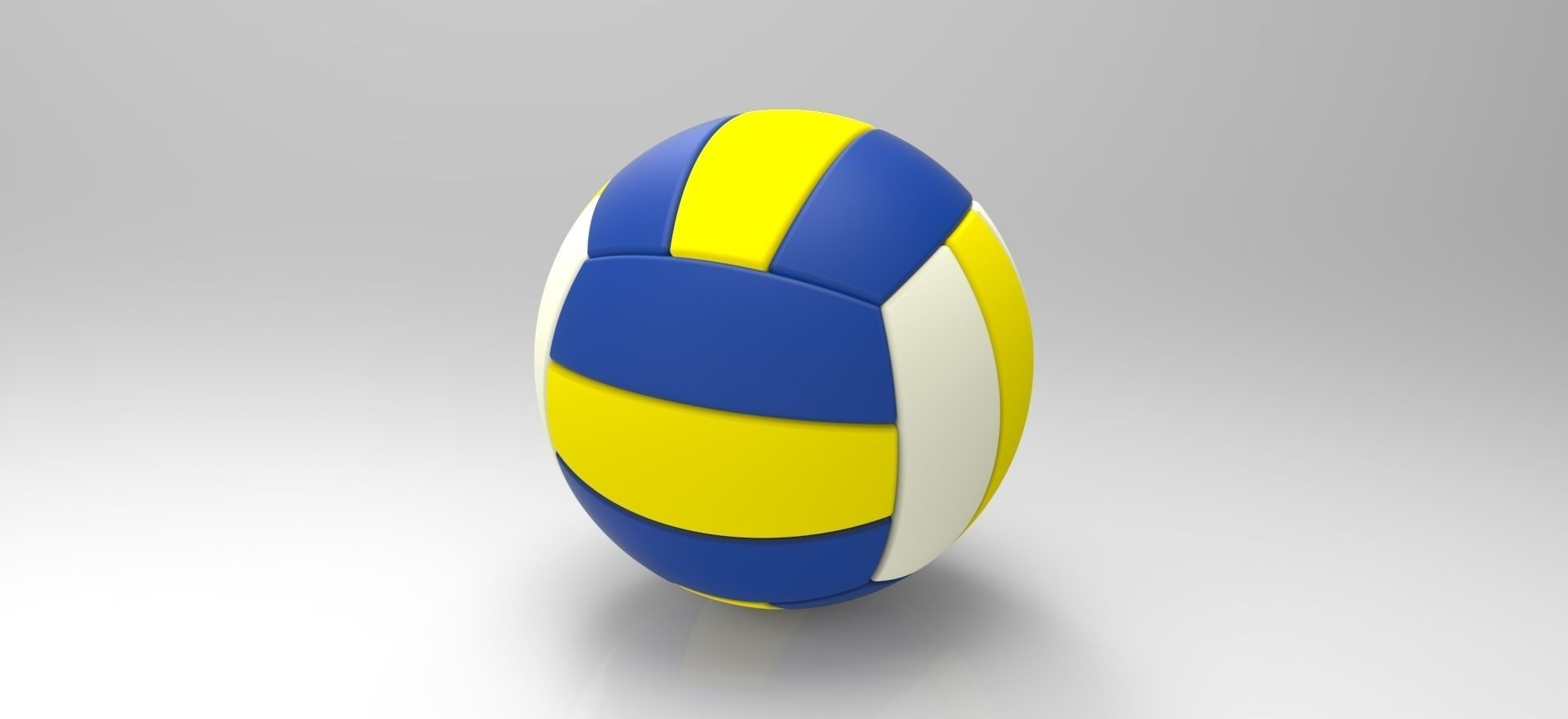 1920x880 Volleyball Ball Free 3d Model