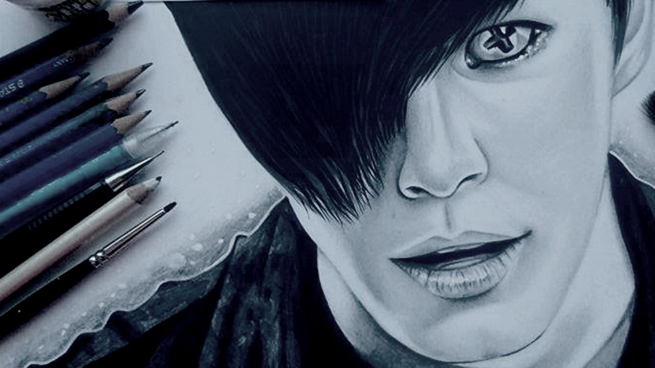 1280x720 Voodoo Doll Drawing Hongbin From Vixx Cloctor Creations