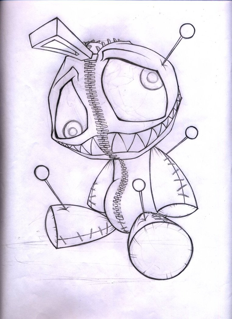 762x1048 Voodoo Doll Drawing Alexlinear Voodoo Dollabrahamgart