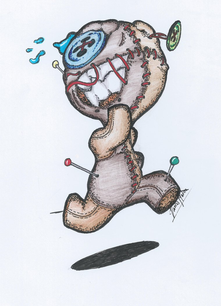 760x1050 Voodoo Doll Drawing Scared Voodoo Dolltarcis1000