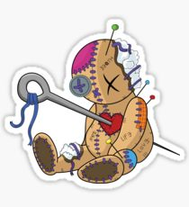210x230 Voodoo Doll Stickers Redbubble