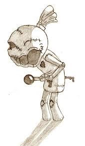 171x295 Voodoo Dolls Drawing