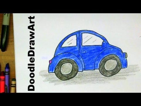 480x360 How To Draw A Vw Beetle