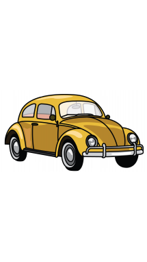 215x382 How To Draw Vw Beetle, A Car, Easy Step By Step Drawing Tutorial