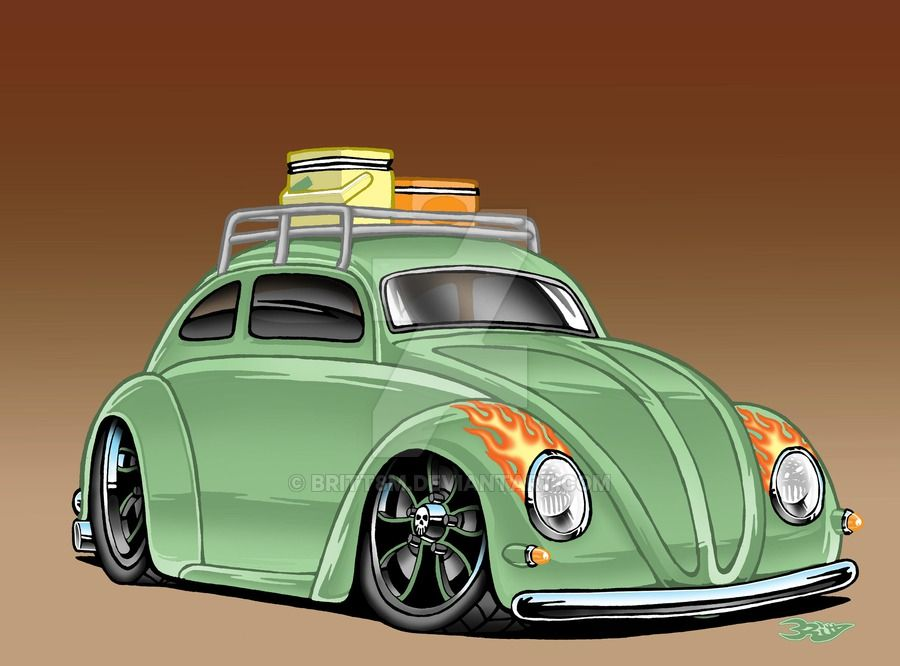 900x666 Pin By Dennis W On Karz Slammed, Beetles And Cars Toons