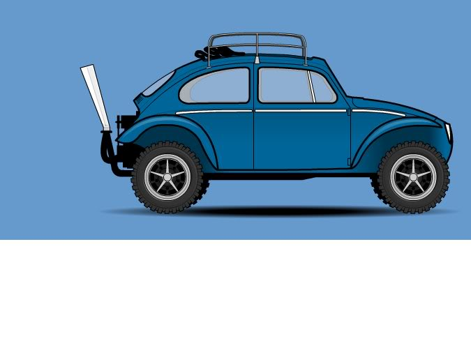 Vw Bug Drawing at GetDrawings.com   Free for personal use Vw Bug ...