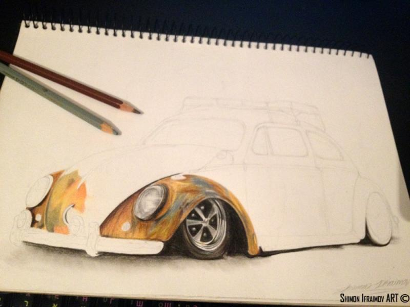 800x600 Vw Beetle Rusty Rat W.i.p