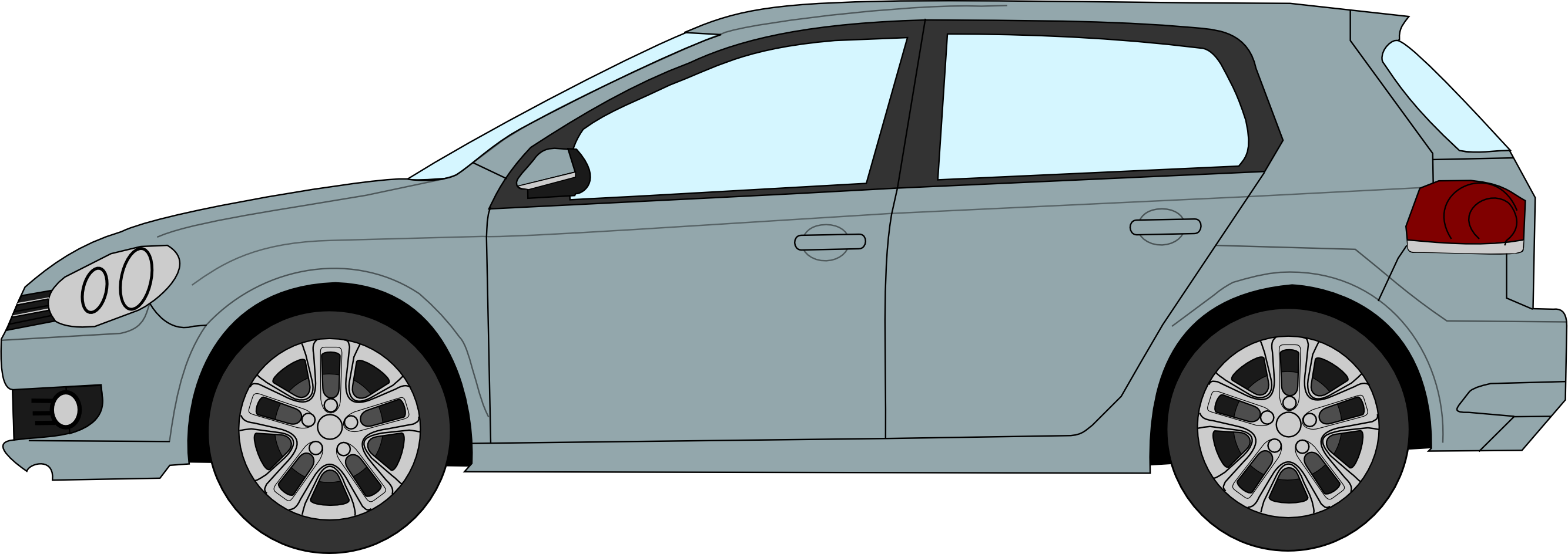 2668x944 Filevw Golf 6 Profile Drawing.png