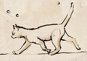 300x212 H James Hoff Cat Art Pixels