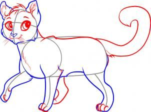 302x224 How To Draw A Cat Walking Tips And Tricks Cat Walk