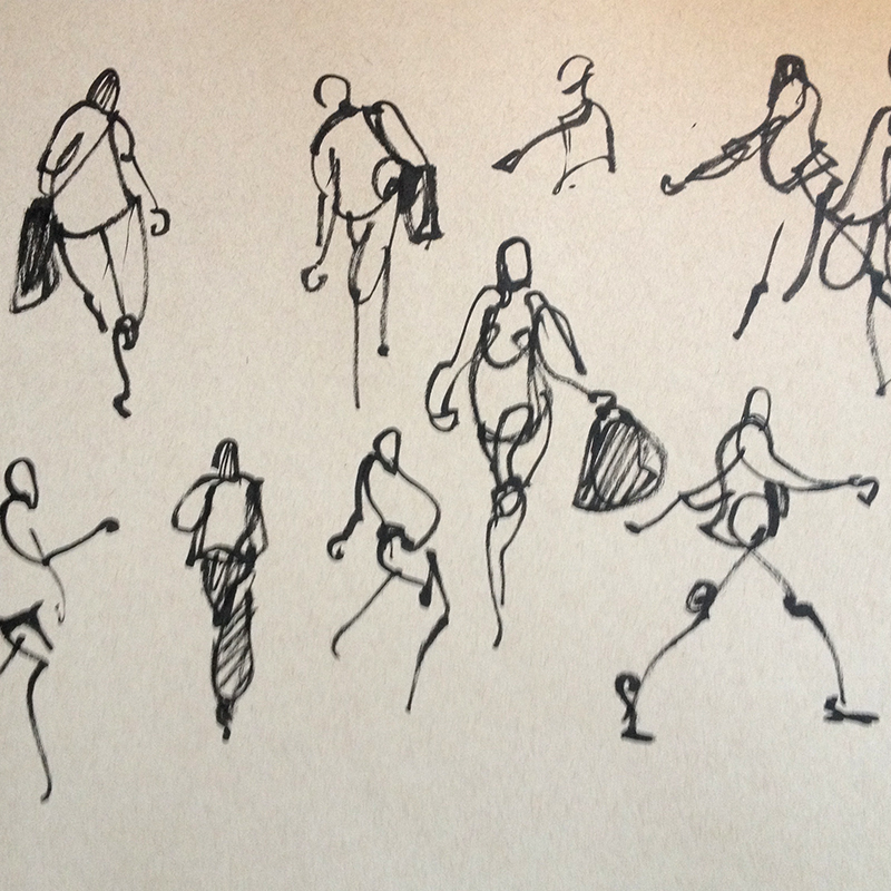 800x800 Inktober So Far Sketch Away Travels With My Sketchbook