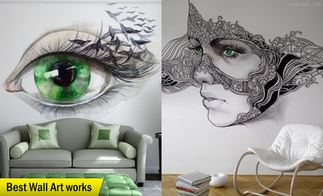 660x400 25 Beautiful Wall Art Works From Top Artists Around The World
