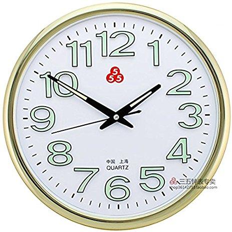 463x463 Zhenfu 14 Inch Minimalist Wall Clock Drawing Circle
