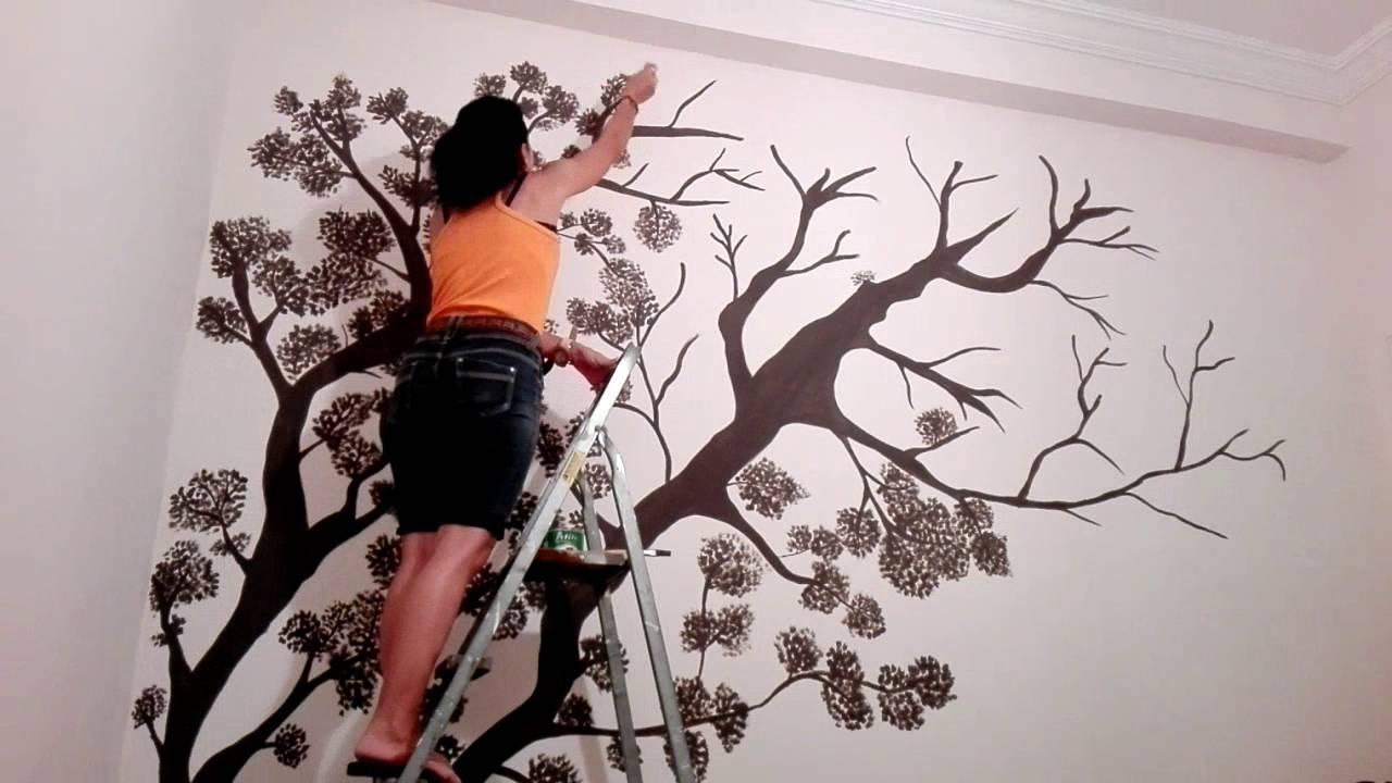 1280x720 Wall Drawing