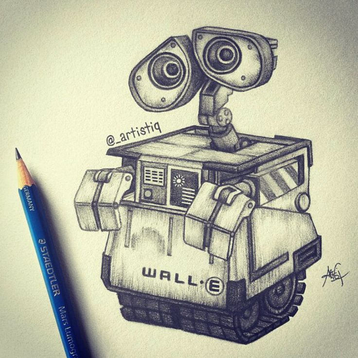 736x735 Drawings Of Wall E Wall E By @ Artistiq