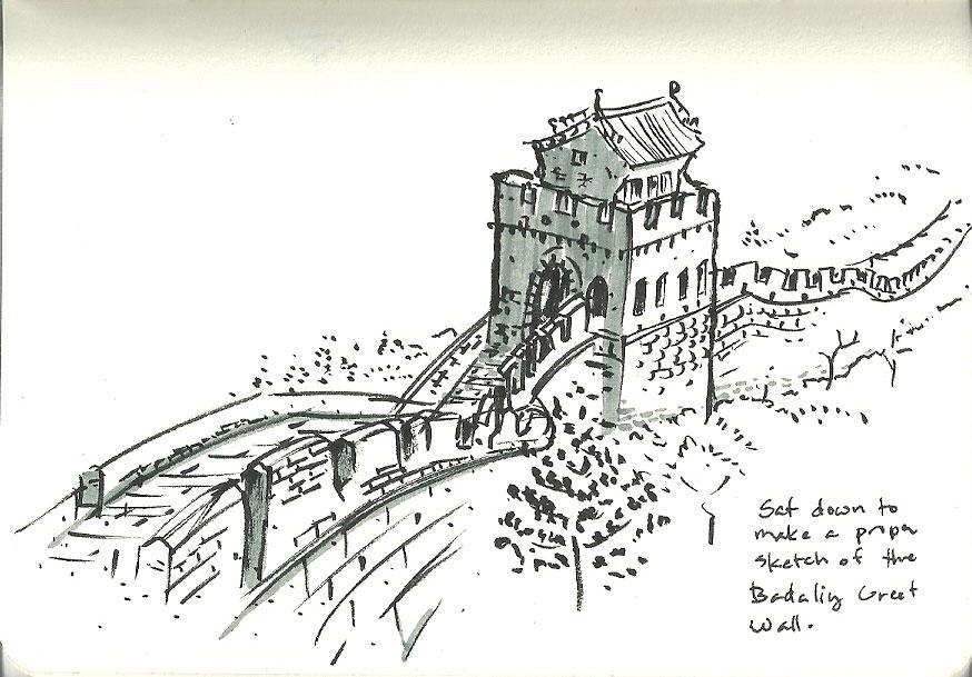 874x609 Ryan Sumo's Blog Beijing Day 4 Sketching