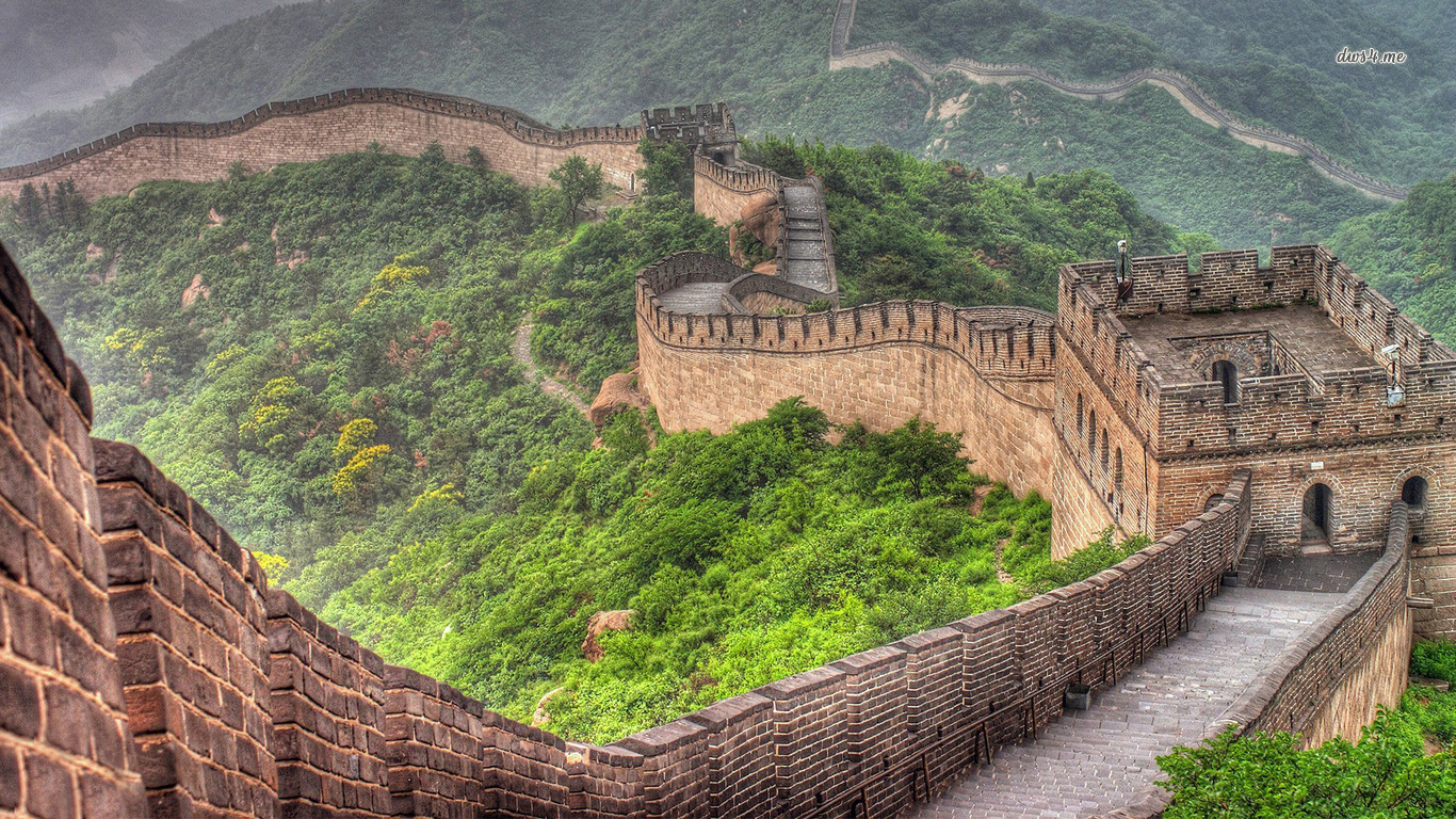 1366x768 Great Wall Of China Wallpaper And Background Image 1366x768 Id
