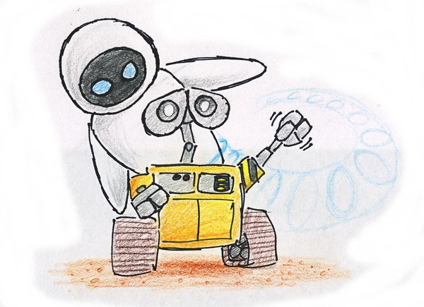 600x435 Drawings Of Wall E