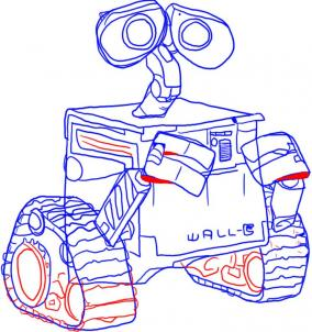 284x302 How To Draw How To Draw Wall E