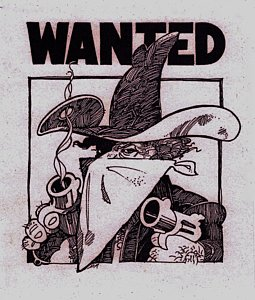 255x300 Wanted Poster Drawings Fine Art America